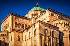 Duomo cathedral in Parma Royalty Free Stock Photos