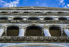 The Duomo (Cathedral) of Pisa (Field of Miracles) Royalty Free Stock Photos