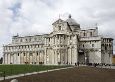 The Duomo Cathedral in Pisa, Italy Stock Photography