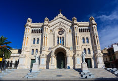 Duomo Cathedral of Reggio Calabria Royalty Free Stock Images