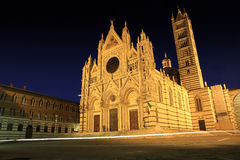 Duomo Cathedral in  Siena, Tuscany, Italy, Stock Photo