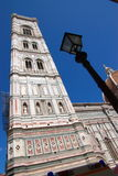 Duomo cathedral tower in Florence Stock Photo