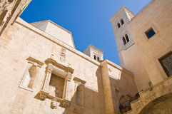 Duomo Church. Molfetta. Puglia. Italy. Royalty Free Stock Images