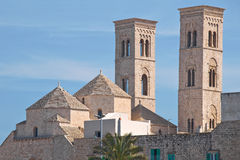 Duomo Church of Molfetta. Puglia. Italy. Royalty Free Stock Photos