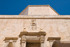Duomo Church. Molfetta. Puglia. Italy. Stock Photo