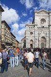 Duomo and the city of Florence Royalty Free Stock Images