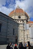 Duomo and the city of Florence Royalty Free Stock Image