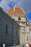 Duomo and the city of Florence Royalty Free Stock Photos