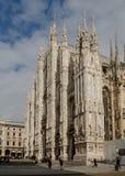 Duomo. Corner view Royalty Free Stock Images