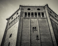 Duomo of Cremona baptistery Royalty Free Stock Photography