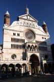 Duomo, Cremona, Italien Stockfotos