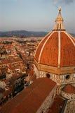 Duomo dans la fin de l'après-midi Images stock