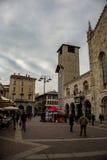 Duomo de Como y de su cuadrado Imagenes de archivo