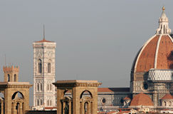 Duomo de Florence en matin Image stock