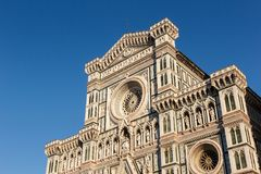 Duomo de Florencia en Florencia Imágenes de archivo libres de regalías