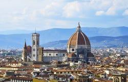 Duomo de IL en Florencia Fotos de archivo libres de regalías