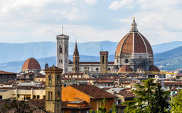 Duomo de l'IL à Florence Photographie stock libre de droits