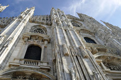 Duomo de la catedral en Milán, Italia Foto de archivo