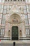 Duomo de la puerta Foto de archivo libre de regalías