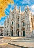 Duomo de Milan, Italie Image libre de droits