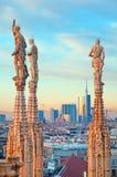 Duomo de Milan - l'Italie Photo libre de droits