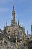 Duomo de Milano foto de archivo libre de regalías