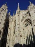 Duomo de Milano Imágenes de archivo libres de regalías