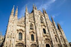 Duomo de Milano Fotografía de archivo libre de regalías