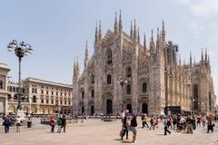 Duomo de Milano, (catedral de Milano), Italia Fotografía de archivo
