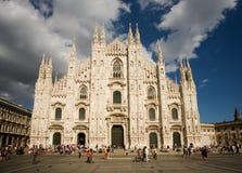 Duomo de Milano, Italia Fotos de archivo libres de regalías
