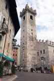 Duomo de Piazza avec le Torre Civica, Trento, Italie Images stock