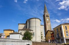 Duomo de Sant Andrea en Portogruaro Foto de archivo