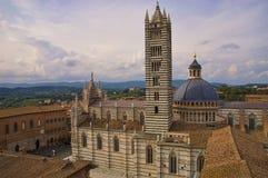 Duomo de Sienna Imagen de archivo libre de regalías