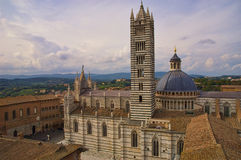 Duomo de Sienna Immagine Stock Libera da Diritti