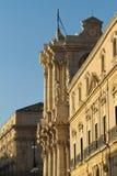 Duomo de Syracuse Fotos de archivo