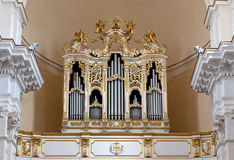 Duomo del órgano, Noto, Sicilia, Italia Imagenes de archivo