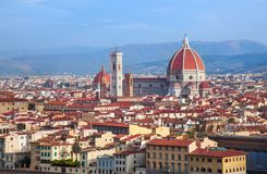 Duomo della cattedrale di Firenze Fotografie Stock Libere da Diritti
