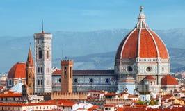 Duomo della cattedrale di Firenze immagini stock libere da diritti