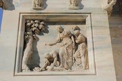 Duomo della cattedrale di Milano, cupola Fotografie Stock