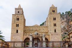 Duomo di Cefalu Imagenes de archivo