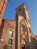 Duomo di Chivasso Fotografía de archivo libre de regalías