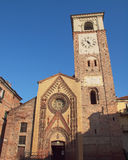 Duomo di Chivasso Fotografia Stock Libera da Diritti