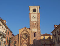 Duomo di Chivasso Foto de archivo libre de regalías