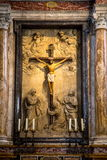 Duomo Di Diena όπου άγαλμα του Ιησού Στοκ εικόνα με δικαίωμα ελεύθερης χρήσης