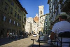 Duomo Di Firenze Stock Afbeeldingen