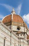 Duomo di Firenze lub kopuła Florencja Zdjęcie Royalty Free