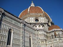 Duomo di Firenze n.3. The famous Dome of Florence, view from below Royalty Free Stock Image