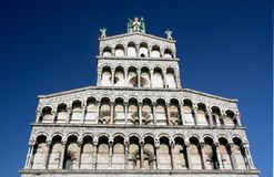 Duomo di Lucca Fotografia Stock