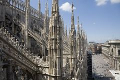 Duomo di Milano Royalty Free Stock Photography