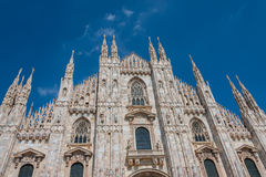 Duomo di Milano, Cathedral of Milano, Italy Royalty Free Stock Photo